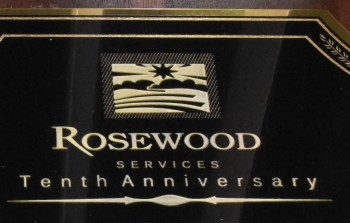Rosewood Employees Awarded for Combined 115 Years of Service
