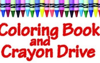 Rosewood AKTION Club Conducting Coloring Book and Crayon Drive Through November